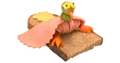 sandwich pic - funny bird sandwich pic