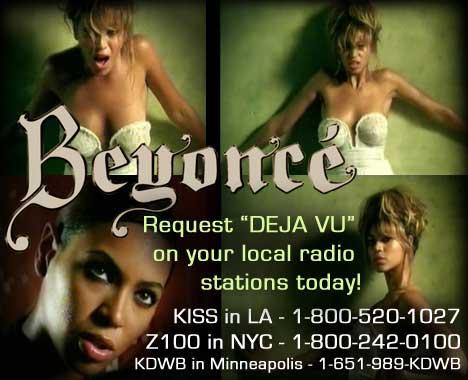 beyonce - the radio info
