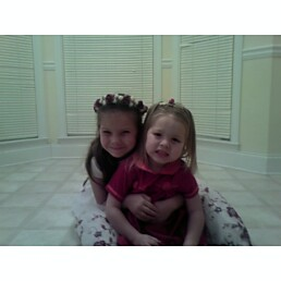my girls - These are my 2 daughters. Chloe and Haley.