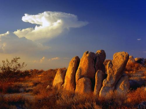 Distant Thunder, Mojave Desert, California - 160 - Destination - Distant Thunder, Mojave Desert, California - 160............ Best locations from around the world ... Truly an adventurer's paradise...High Resolution Photography