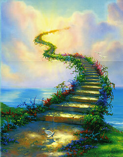 Stairway to Heaven - The stairway to the Otherworld.  The bridge between this world and the next.