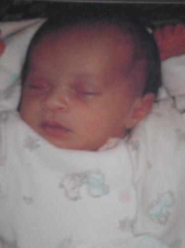 My daughter  - This is a pic of my daughter that I placed for adoption when she was 2 weeks old in oct 2006