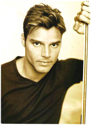 Ricky Martin - the Latin American pop singer who rose to fame