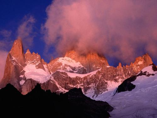 Mount Fitz Roy, Patagonia, Argentina - 1600x1200 - Destination - Mount Fitz Roy, Patagonia, Argentina - 1600x1200............ Best locations from around the world ... Truly an adventurer's paradise...High Resolution Photography