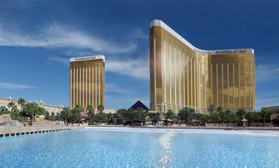 Mandalay Bay Hotel Casino - This is where my Hubby works as a Networking Engineer