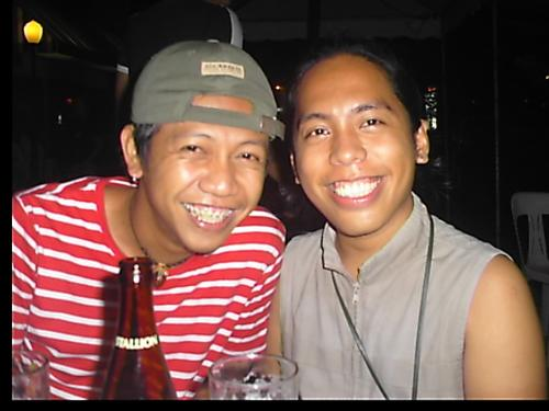 me and jepoi - taken at the Kanto Bar. he was present last night.