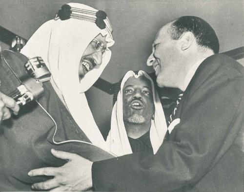 king - King Saud was the second King of Saudi Arabia, reigning from 1953 to 1964. Saud became Crown Prince in 1933 and succeeded to the Saudi throne on the death of his father, King Abdul Aziz (Ibn Saud), in 1953. He established the Council of Ministers and set up the Ministries of Commerce, Education and Health. During his reign, the King Saud University was opened in Riyadh .