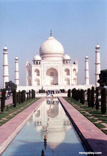 Taj Mahal - one of the eight wonders of the world