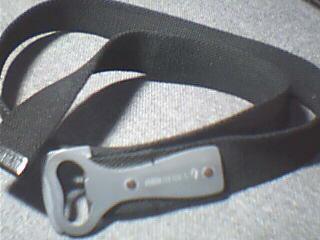 belt - my belt and my red horse beer opener!