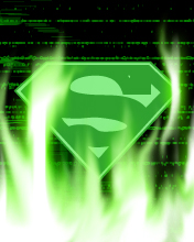 Kryptonite version of superman emblem - Kryptonite version of superman emblem