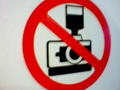 No Picture please - Banning Photography