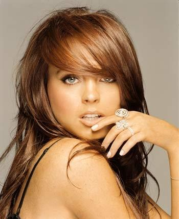 Lindsay Lohan - All grown-up. She's such a sweetie. Peeps find her as a party girl but who knows? Maybe there's a sadness within.