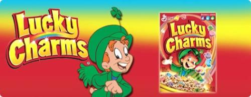 Lucky charms  - kids love this cereal and alot of adults do to. but what marshmellow are you?