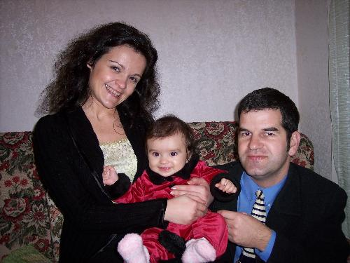 my family and my niece - me and my wife with a niece