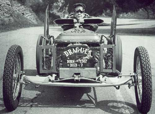 "Drag-U-La~ - TV show ""The Munsters"" race care, Drag-U-La~"