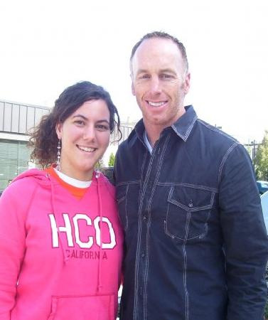 Jeff Garcia and I - I saw Garcia while I was going back to my sisters house in Philly, and I got a picture with him, obviously.