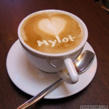 Cup of cappuccino - personalised cup of cappuccino.