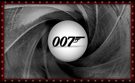 007, bond, james bond,  casino royal,  handsome  b - james bond. Pic of 007 poster  showing bonds classic symbol..