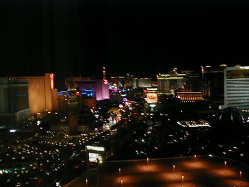 Vegas Strip - Here's a photo from my room at Treasure Island