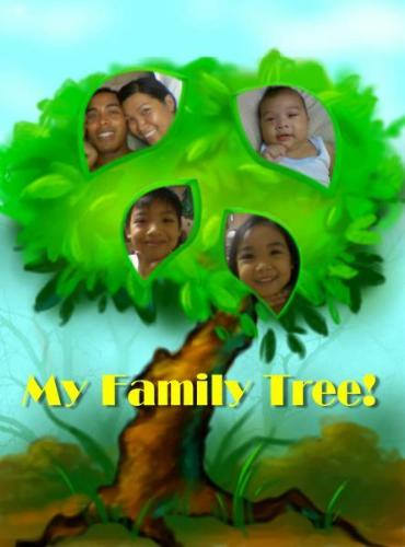 my family tree - my wife did this one.