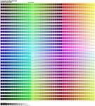 Color  - Color Chart