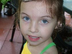 My beautiful 4 year old - taken last week while we were playing in the rain!!
