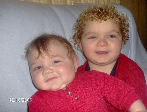 My grandson's - My grandson's Jordyn and JD