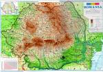 Romania map - Here you have a map of my country.