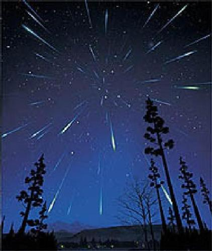 meteor shower - meteor shower