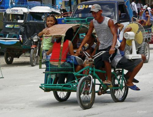 trisikad! - a uniquely filipino ride.