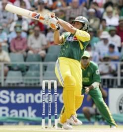 cricket! - he is cool!