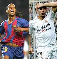 Ronaldinho and Ronaldo - Ronaldinho and Ronaldo