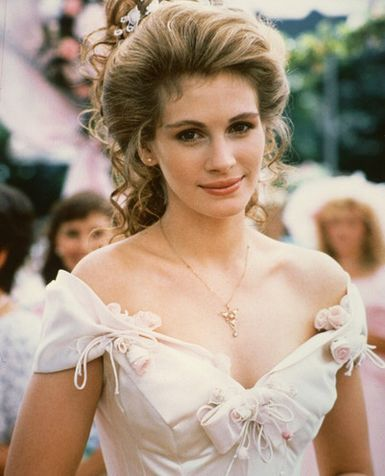 Julia Roberts Wedding Hair - Steel Magnolias Star Studed Chick Flick
