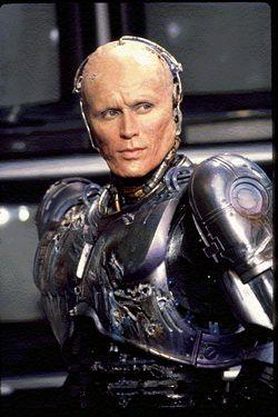Robocop! - Robocop... half man half human...