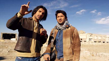 John Abraham & Arshad Warsi - John Abraham & Arshad Warsi in Kabul Express