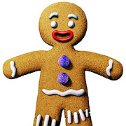The Gingerbread Man - The Gingerbread Man from Shrek