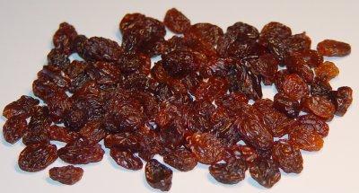 Raisins - just a dried up grape