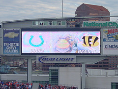 Bengals vs Colts LCD - Bengals vs Colts