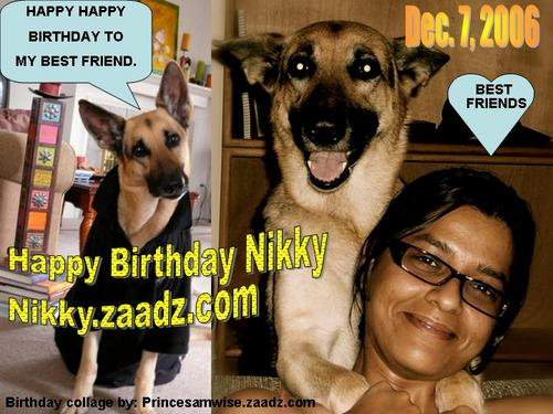 Happy Birthday Nikky  - Happy Birthday to Nikky on Dec. 7Nikky is at Nikki.zaadz.com