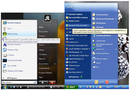 Microsoft Windows  Vista Or Windows XP? - windows vista vs windows xp