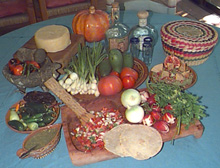 Salsa ingredients - The beginning of a wondeful meal