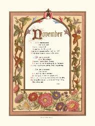 november - november month