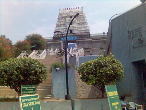 temple - A somewhat new temple at Bangalore. ISKON. It is a famous temple in B'lore9Karnataka).