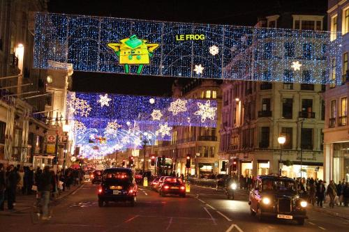 Christmas Lights - A photo I took a couple of weeks ago of London's Regent Street Christmas lights