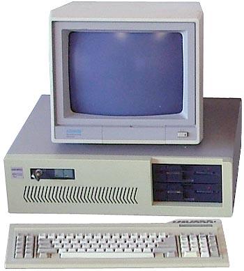 Old desktop pc. - I started working on desktop from 1989.
