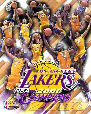 The Lakers - Here is the pic of my favourite basket ball team.....the Los Angeles Lakers