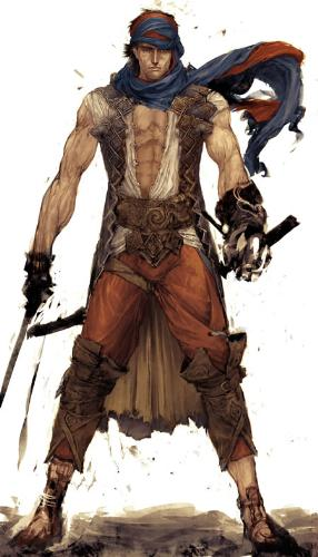Prince of Persia 4 ARTWORk - THiS is supposed to be one ofthe artworks released on net for the POP4 series......
