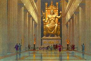 the statue of zeus!!! - zeus