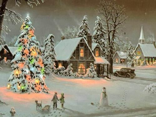 merry christmas - A nice webcard for wish to all merry christmas!