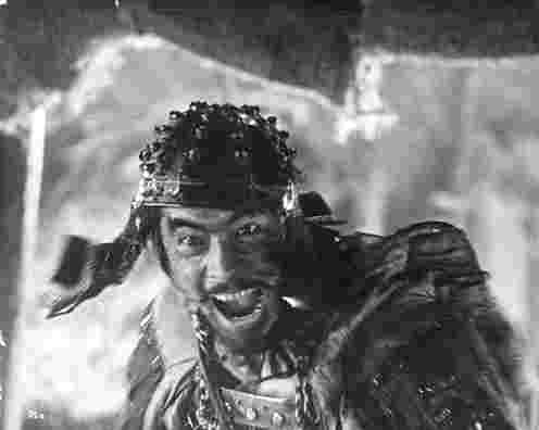 'Kikuchio' in Seven Samurai broke out in Rage at t - Kikuchio, played by Toshiro Mifune, accusing all the six other samurai.